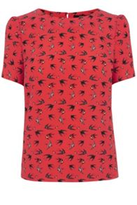 Mini swallow bird t-shirt
