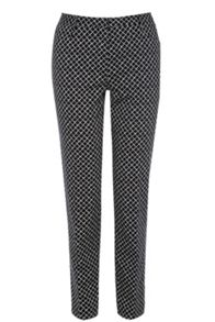 Diamond Geo Print Trousers