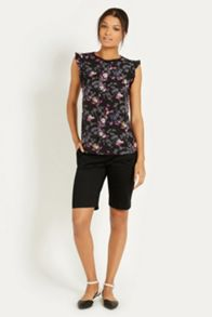 Shadow floral shoots top