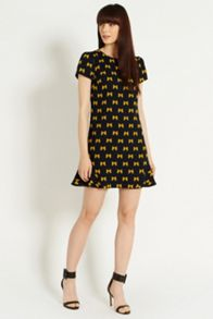 Bow java shift dress