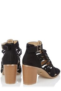 Oasis Molly Multi Strip Block Heel
