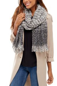 Oasis Ombre Boucle Scarf