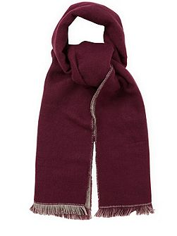 Double Faced Plain Scarf