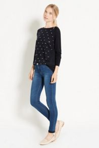 Relaxed Embellished Top