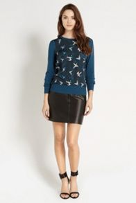 Ting Bird Woven Front Top
