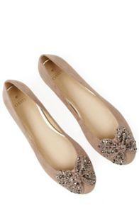Oasis Betty Sparkle Bow Ballerina