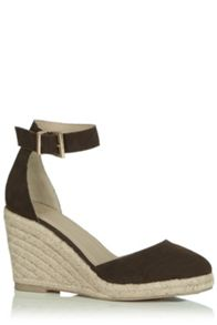 Oasis Emilia 2 Part Espadrille Wedge