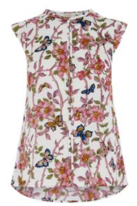 Oasis Beautiful Butterfly Top