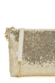 Oasis Summer Sequin Pouch