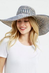 Oasis Mixed Weave Floppy Hat