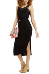 Oasis Trimmed Scoop Midi