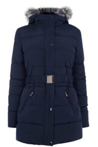 Oasis Sabrina Padded Coat