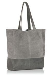 Oasis Leather Unlined Shopper