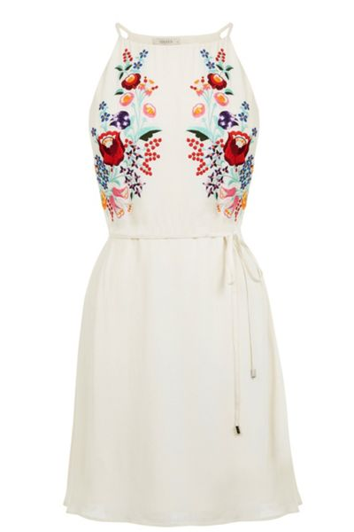 Oasis Embroidered Tropez Dress