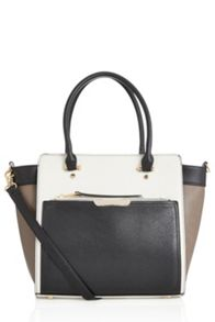 Oasis Tilly Colourblock Tote