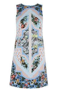 Oasis Patchwork Chintz Shift
