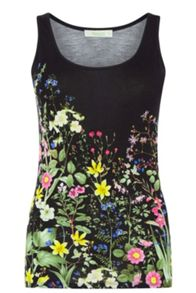 Oasis Chelsea Physic Printed Vest