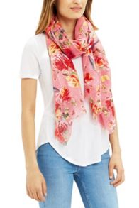 Oasis Butterfly Rose Scarf