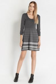 Textured Hem Dress