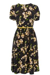 Cherry Blossom Midi Dress