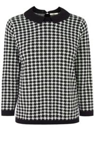 Dogtooth Collar Jumper