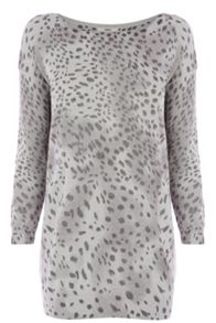 Animal lurex jumper
