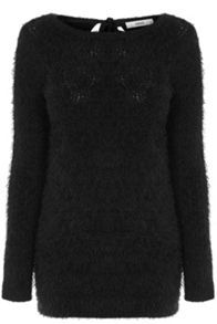 Pointelle fluffy ll jumper