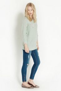 Bow Back Longerline Jumper