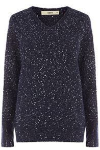 The nicole sequin knit jumper
