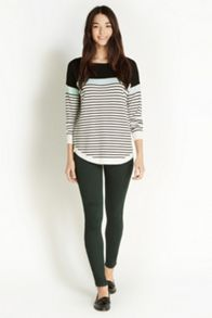 Colourblock stripe top