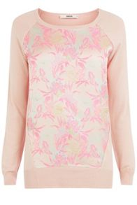 Neon Jacquard Front Top