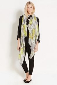 Neo Floral Scarf