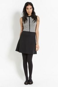 2 In 1 Grid Check Dress