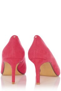 Scarlett mid heel court shoes