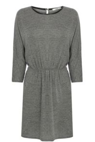 Grey marl tunic dress