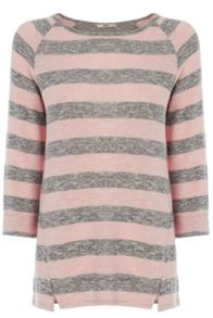 Marl Stripe Sweat