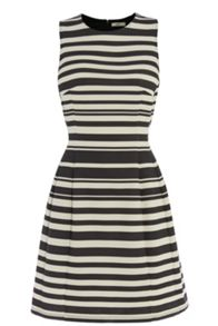 Stripe Ponte Dress
