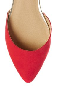 2 Part Flat Pointed shoes