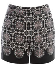 Tribal lace shorts