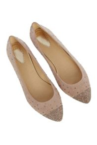 Sparkle Flat Pointed shoes