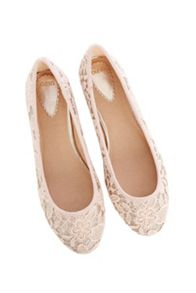 Lace Ballerina shoes