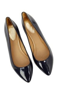 Patent Flat Pointed pumps