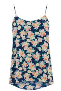 Small orchid camisole