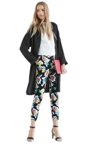 Art rose structure trousers