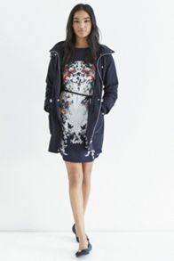 Bloom Bird Placement T Shirt Dress