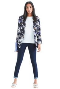 Shadow orchid soft blazer