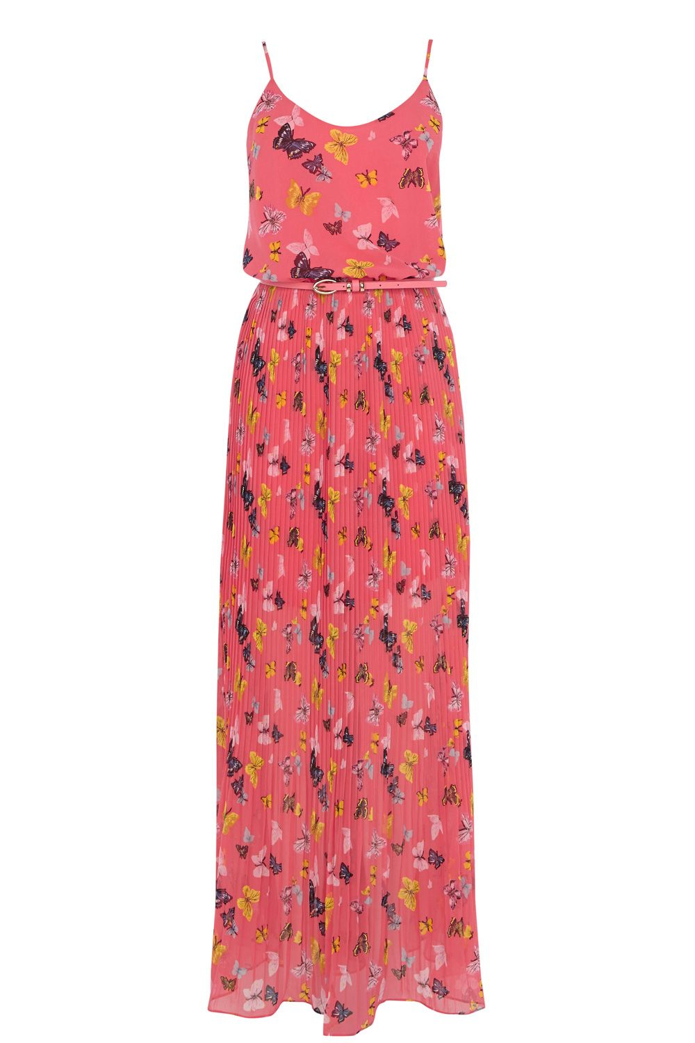 Butterfly Side Split Maxi Dress
