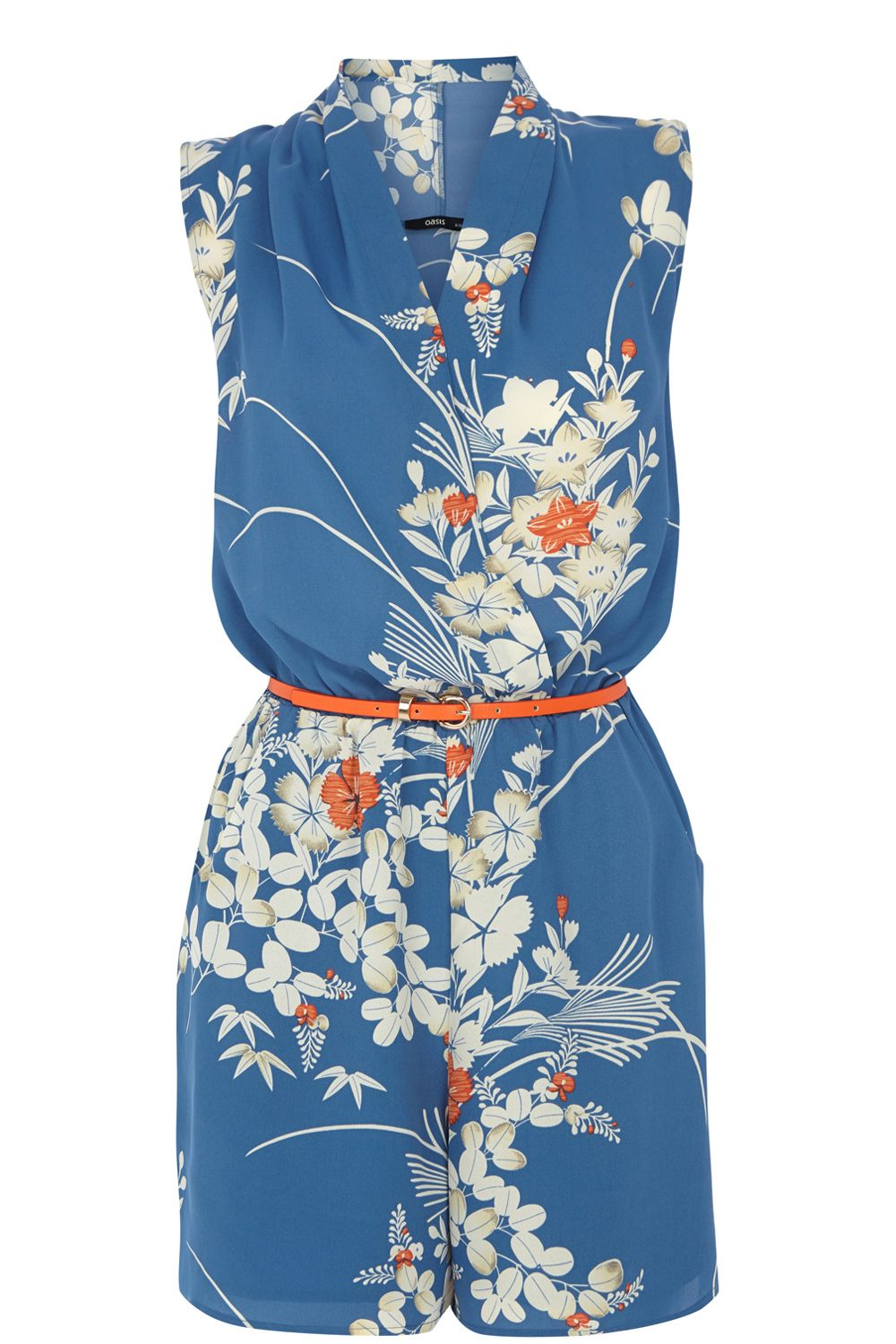 Japanese oriental playsuit