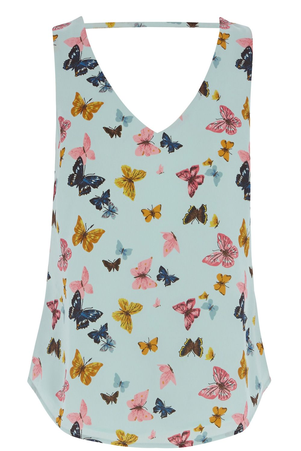 Butterfly v front and back vest