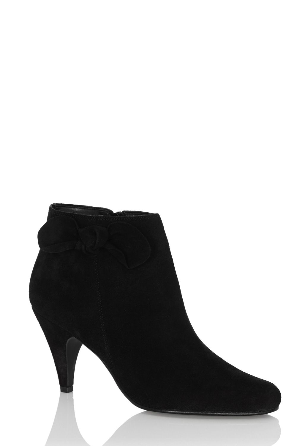 Betsy bow ankle boots